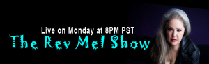 The Rev Mel Show Live on TSRnetwork