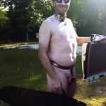 Nude Gun Shooting